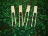 bamboo double prong skewers, bamboo double pronged skewers, bamboo skewers