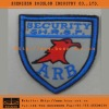 Military Fabric Uniform Embroided Badge