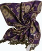 2012 Winter and Autumn Jacquard Pashmina Shawl
