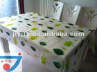 Factory supply 2012 new design printed PE / PEVA tablecloth