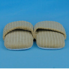 camel corduroy fabric 2012 indoor slippers