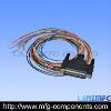 DSUB CABLE MALE PLUG+25 WIRE