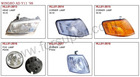 TOYOTA WINGRO AD Y11 1998 auto lamp and body parts