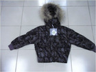 Wholesale & Retail Boys Hooded Camouflage Goose Down Coat/Jacket