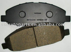 auto brake pad for NISSAN URVAN E25 41060-VW085