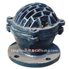 cast iron flange foot valve