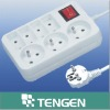 wall socket (socket wall switch),extension outlet Franch type