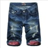 cotton new style summer man short denim
