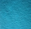 new design 80% cotton 20% poly sky blue towel fabric