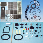die cutting adhesive rubber components