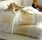 embroidary cotton face towel