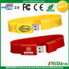 Silicone Custom Logo USB Bracelet