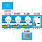 A60 incandescent bulbs 25W/60W/75W/100W