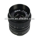 Popular monofocal 25mm high resolution lens F1.4 manual iris camera lenses