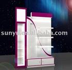 Acrylic Cosmetic Floor Display Stand
