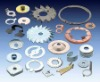 precision stamping part in steel, stainless steel, aluminium, brass