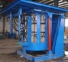 Tieqi heavy section steel melting induction furnace for sale