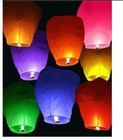 2012 Flying sky lantern for party decoration