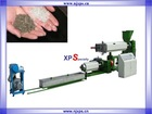 Plastic recycling machine for XPS/PE/PS foam scraps