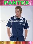 men's casual shirt work shirt short sleeve shirt-PWM-016