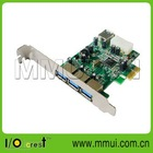 3 External and 1 Internal Ports, VIA VL800 Chipset , USB 3.0 PCI-Express Card