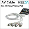 Audio Video Cable AV Cable For iPhone 3G