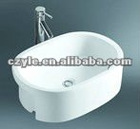 oval counter top vanity wash basin