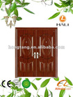 Newest entrance steel security double door design