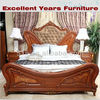 European style fancy antique picture of bedroom set NF-SJ-19