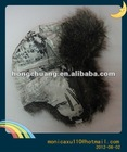 Winter Fur Lined Warm Ski Hat Ear Flap Russian Trapper Aviator Cap