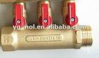 brass ball valve M/F long handle