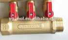 brass ball valve M/F long handle