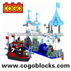 Cogo Pirates of the Caribbean building block enlighten brick