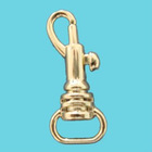 Fashion gold plated metal hook(1 inch)