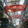 Double Girder Travelling Overhead Crane With Grab