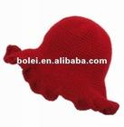 HOT SELL beautiful red visor hats