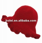 HOT SELL beautiful red visor hats