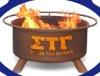 Sigma Tau Gamma metal fire pits set