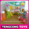 special frog shape bottle blow bubbles/ bubble water