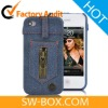Zipper Jeans New York Style Case Cover For iPhone 4 (Verizon CDMA, AT&T)