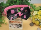 Pink Dot Hair Band;kids hair accessories