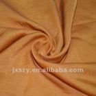 Silk/cotton satin fabric textile