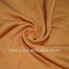 Silk/cotton satin fabric textile