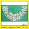 New design embroidery neck lace