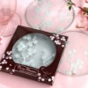 Cherry Blossom Glass Coasters