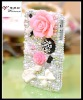 2012 Flower Design Silicone Mobile Phone Pouch for IPhone