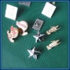 different custom metal pin badges