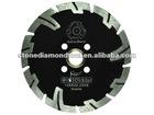 HN-7 Diamond turbo dry cutting saw blade
