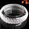 optical k9 crystal ashtray