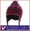 Fashion designer knitting cap